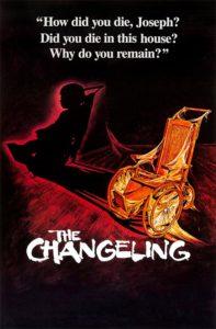 Póster de Al final de la escalera (The Changeling)