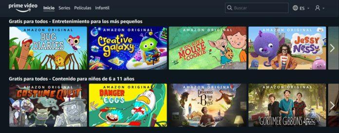 amazon prime video infantil