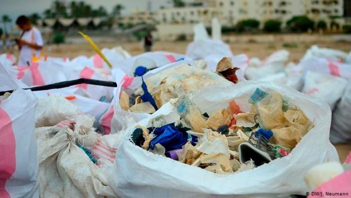 Basura plásticos
