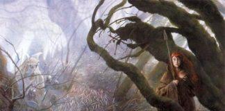 Ilustración de Bosque Mitago, de John Howe