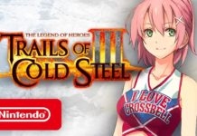 Portada tráiler Trails of Cold Steel 3