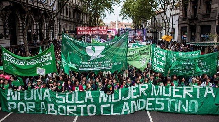 La Ola Verde argentina