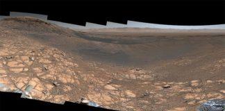 Panorama de Marte desde el Curiosity