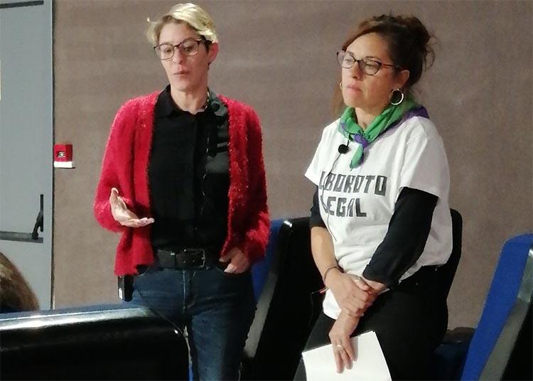 Gabriela K. Ripari y Marina Seco