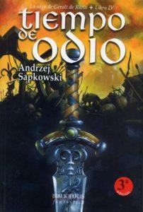 Portada de Tiempo de Odio (Geralt de Rivia IV), de Andrzej Sapkowski