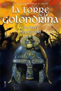 Portada de La Torre de la Golondrina (Geralt de Rivia VI), de Andrzej Sapkowski