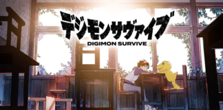 Digimon Survive con logo