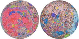Primer mapa geológico completo de la Luna