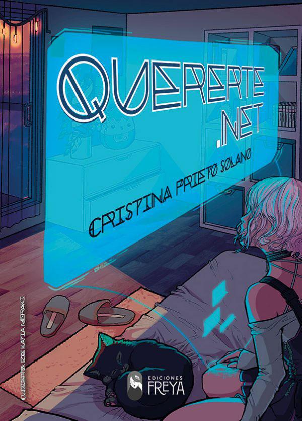 Portada de Quererte.net, novela de Cristina Prieto solano