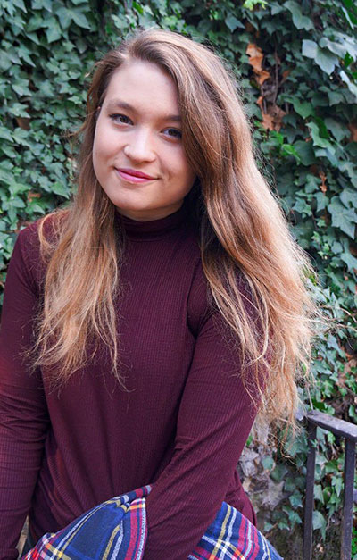 La escritora Cristina Prieto Solano