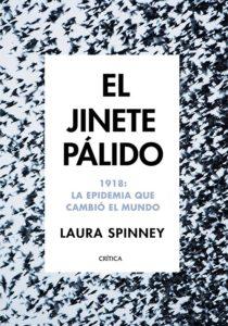Portada de El jinete pálido, de Laura Spinney