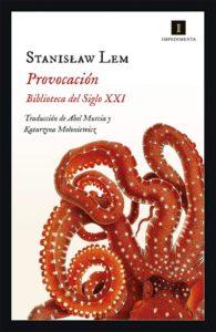 Portada de Provocación, de Stanislaw Lem