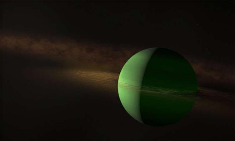 Planet AU Mic b tiene aproximadamente el tamaño de Neptuno.