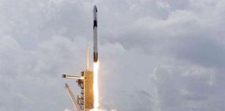 Despegue del Falcon 9 de SpaceX