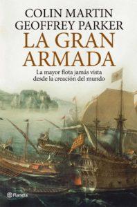 Portada de La Gran Armada, de Geoffrey Parker y Colin Martin