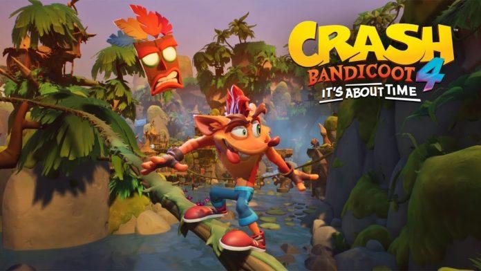 Portada tráiler Crash Bandicoot 4