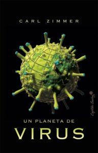 Portada de Un planeta de virus, de Carl Zimmer