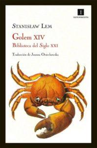 Portada de Golem XIV, de Stanislaw Lem