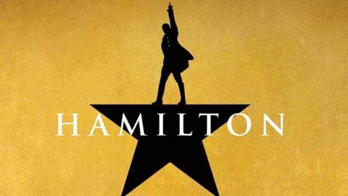 Imagen promocional del musical hamilton