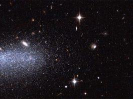 Imagen del Hubble con dos nuevos asteroides