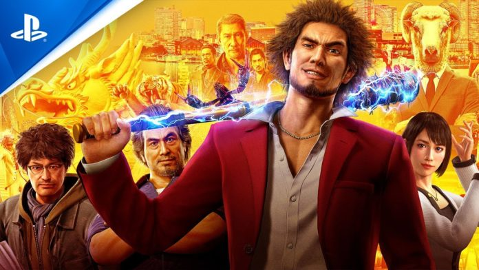 Portada trailer Yakuza lIke a dragon