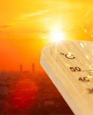 Dramatización de una ola de calor