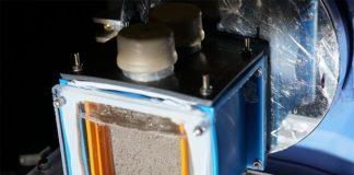 Dispositivo inalámbrico produce combustible limpio a partir de luz solar, dióxido de carbono y agua.