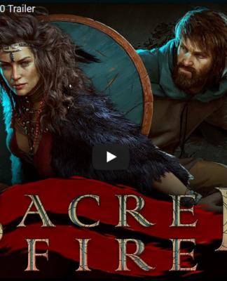 portada trailer Sacred Fire