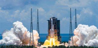 Lanzamiento de Tianwen-1