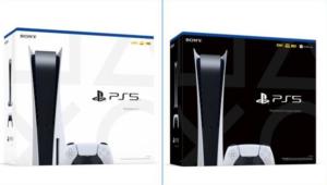 Cajas de PS5
