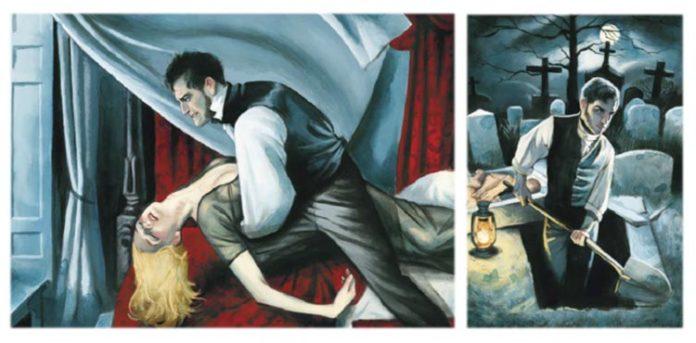Frankenstein ilustrado por Fernando Vicente