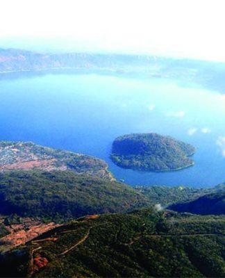 Caldera de Ilopango: la erupción dio lugar a un lago de origen volcánico