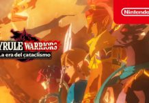 portada trailer Hyrule Warriors la era del cataclismo