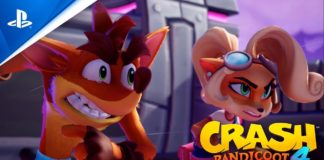 portada trailer Crash Bandicoot 4