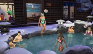 Los Sims 4 Escapada a la nieve