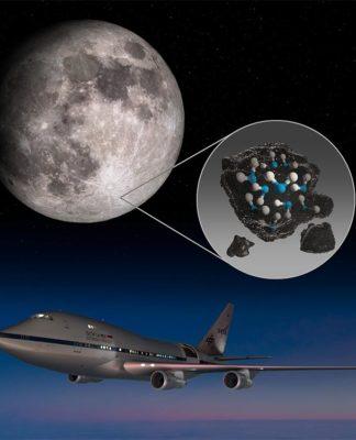 Detectada agua en la Luna