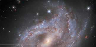 Hubble captura una supernova