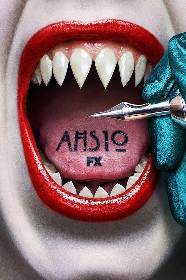 Póster de la temporada 10 de American Horror Story