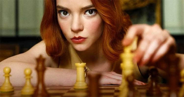 Anya Taylor-Joy en Gambito de dama