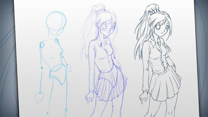 Aprende a dibujar mangas