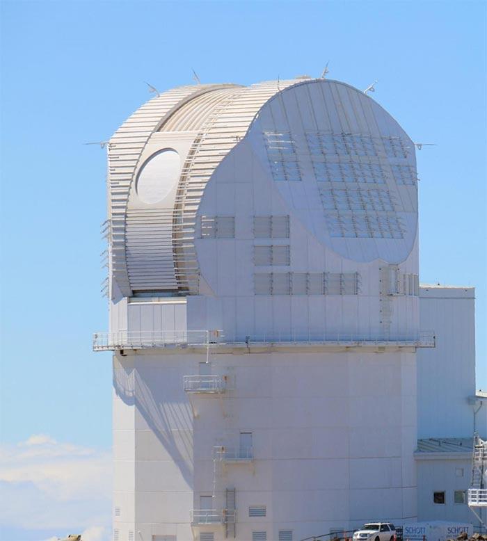 Telescopio solar Inouye de la Fundación Nacional de Ciencias de EE.UU.