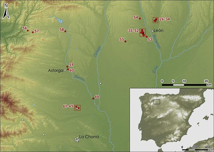 Presencia militar romana en León; nuevos campamentos romanos detectados