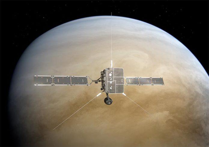 Solar orbiter y Venus