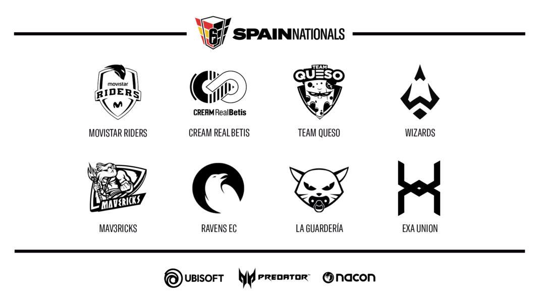Equipos Season 3 - R6 SPAINS NATIONALS