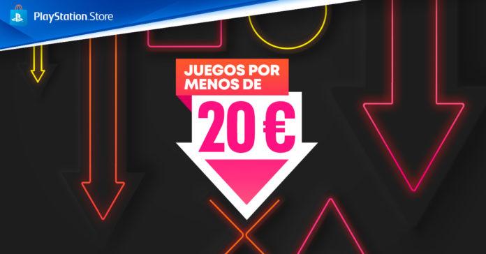 Oferta PsStore - Juegos por menos de 20€