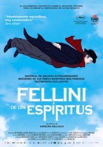 Póster de Fellini de los espíritus