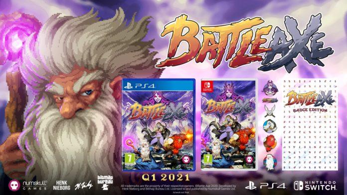 Battle Axe - PS4 y Nintendo Switch