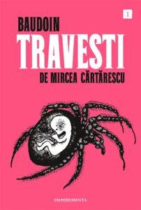 Portada de Travesti, de Edmond Baudoin (Mircea Cărtărescu)
