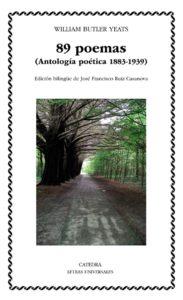 Portada de 89 poemas, de W.B. Yeats