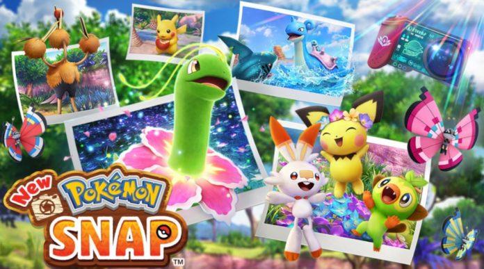 Portada New Pokémon Snap